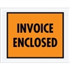 "7"" x 5 1/2"" Orange (Full Face) ""Invoice Enclosed"" Envelopes 1000/Case"