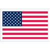 "5 1/4"" x 8"" U.S.A. Flag Packing List Envelopes 1000/Case"