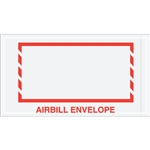 "5 1/2"" x 10"" Red Border ""Airbill Envelope"" Document Envelopes 1000/Case"