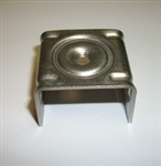 STAINLESS SIGN MOUNTING BRACKET, TYPE 201, STRAIGHT LEG, w/SS BOLT & WASHER, 50 PER BOX