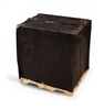 Black Pallet Top Covers with UVI/UVA  50 in. W. x 42 in. D. x 69 L. x 2 Mil 65/Roll