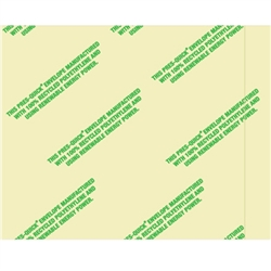 "4 1/2"" x 5 1/2"" Environmental ""Clear Face"" Envelopes 1000/Case"