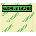 "7 "" x 5 1/2"" Environmental ""Packing List Enclosed"" Envelopes 1000/Case"