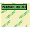 "7"" x 5 1/2"" (500 Pack) Environmental ""Packing List Enclosed"" Envelopes 500/Case"