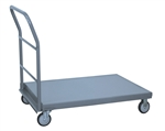 Platform Truck, 24x48 Steel Deck 1200 lb Cap Removable Hndl