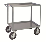 Cart, 2 Shelf  Low Vibration 24x36 1200# Cap Std Handle