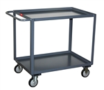 "SB124 Jamco Model SB Service Cart, 2 Shelf, 1200 lb. Capacity, 18""x24"""