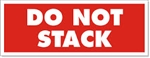 "LABELS, 3"" x 5"", DO NOT STACK, RED, 500/ROLL"