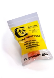 Bag, Reclosable Chemotherapy Drug Transport 12 in. x 15 in. x 4 Mil  500/Case