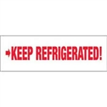 "TAPE, PRINTED ""KEEP REFRIGERATED"", 2"" X 110 YD, 36/CS, WHITE/RED"