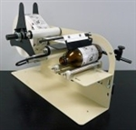 "Label Applicator for Round Products, Manual Hand Crank, Labels Up to 5"" Wide"