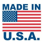 "LABELS, 2"" x 3"", MADE IN USA/FLAG, 500/ROLL"