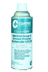 CORTEC ELECTRICORR NON-FLAMMABLE SOLVENT CLEANER/INHIBITOR SPRAY, SIX 9.45 OZ CANS/CS