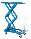 "BX-50S SCISSOR LIFT, MOBILE, HEAVY DUTY, 1100 LB/CAP, 25.6"" X 18.1"""