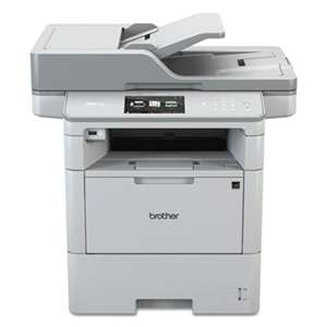 BROTHER INTL. CORP. MFC-L6750DW Wireless Monochrome All-in-One Laser Printer, Copy/Fax/Print/Scan