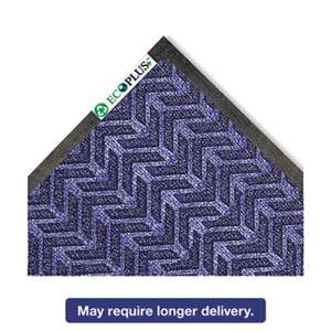 CROWN MATS & MATTING EcoPlus Mat, 35 x 59, Midnight Blue