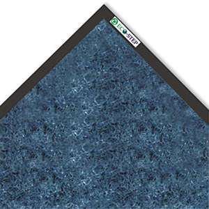 CROWN MATS & MATTING EcoStep Mat, 36 x 120, Midnight Blue