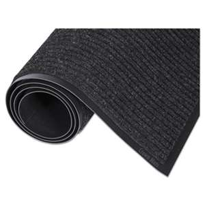 CROWN MATS & MATTING Needle Rib Wipe & Scrape Mat, Polypropylene, 36 x 60, Charcoal