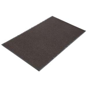 CROWN MATS & MATTING Needle Rib Wipe & Scrape Mat, Polypropylene, 48 x 72, Brown