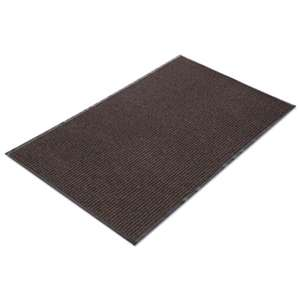 CROWN MATS & MATTING Needle Rib Wipe & Scrape Mat, Polypropylene, 36 x 120, Brown