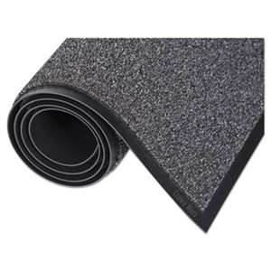 Crown WA0035GY Walk-A-Way Indoor Wiper Mat, Olefin, 36 x 60, Gray