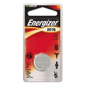 Energizer ECR2016BP Watch/Electronic/Specialty Battery, 2016, 3 Volt