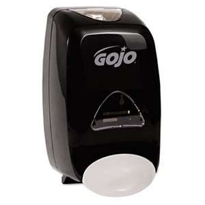 GO-JO INDUSTRIES FMX-12 Soap Dispenser, 1250mL, 6 1/8w x 5 1/8d x 10 1/2h, Black