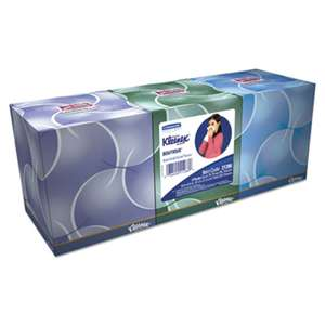 KIMBERLY CLARK Boutique Anti-Viral Tissue, 3-Ply, Pop-Up Box, 68/Box, 3 Boxes/Pack