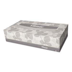 Kleenex 21400BX White Facial Tissue, 2-Ply, Pop-Up Box, 100/Box