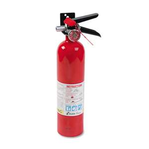 KIDDE ProLine Pro 2.5 MP Fire Extinguisher, 1 A, 10 B:C, 100psi, 15h x 3.25 dia, 2.6lb