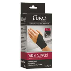 MEDLINE INDUSTRIES, INC. Performance Series Wrist Support, Adjustable, Black