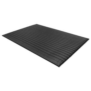 MILLENNIUM MAT COMPANY Air Step Antifatigue Mat, Polypropylene, 24 x 36, Black