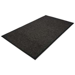 MILLENNIUM MAT COMPANY Golden Series Indoor Wiper Mat, Polypropylene, 48 x 72, Charcoal