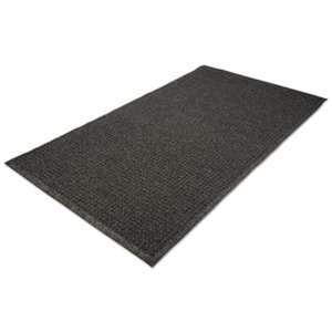 MILLENNIUM MAT COMPANY EcoGuard Indoor/Outdoor Wiper Mat, Rubber, 24 x 36, Charcoal