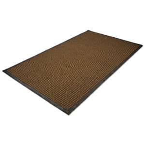 MILLENNIUM MAT COMPANY WaterGuard Indoor/Outdoor Scraper Mat, 36 x 60, Brown