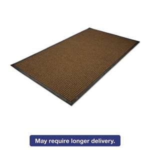 MILLENNIUM MAT COMPANY WaterGuard Indoor/Outdoor Scraper Mat, 48 x 72, Brown
