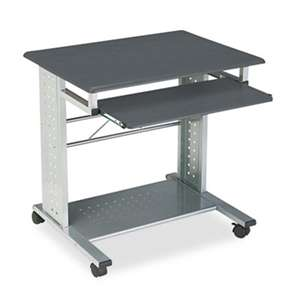 MAYLINE COMPANY Empire Mobile PC Cart, 29-3/4w x 23-1/2d x 29-3/4h, Anthracite