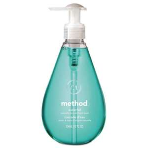 METHOD PRODUCTS INC. Gel Hand Wash, Waterfall, 12 oz Pump Bottle