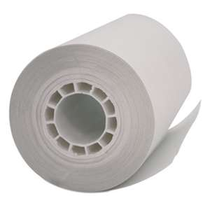 "PM COMPANY Single Ply Thermal Cash Register/POS Rolls, 2 1/4"" x 55 ft., White, 50/Carton"