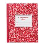 ROARING SPRING PAPER PRODUCTS Grade School Ruled Composition Book, 9 3/4 x 7 3/4, Red Cover, 50 Pages