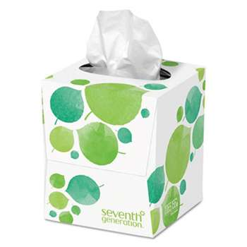 SEVENTH GENERATION 100% Recycled Facial Tissue, 2-Ply, 85/Box