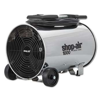 "SHOPVAC Stainless Steel Portable Blower, 11"", 3-Speed, 1/4 HP Motor"
