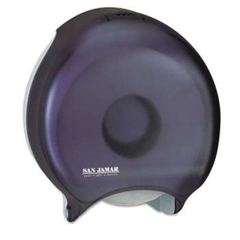 THE COLMAN GROUP, INC Single-Roll Jumbo Bath Tissue Dispenser, 10 1/4 x 5 5/8 x 12, Black Pearl