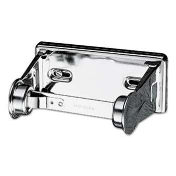 THE COLMAN GROUP, INC Locking Toilet Tissue Dispenser, 6 x 4 1/2 x 2 3/4, Chrome