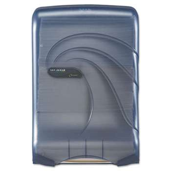 THE COLMAN GROUP, INC Ultrafold Multifold/C-Fold Towel Dispenser, Oceans, Blue, 11 3/4 x 6 1/4 x 18