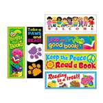 TREND ENTERPRISES, INC. Bookmark Combo Packs, Celebrate Reading Variety #1, 2w x 6h, 216/Pack