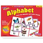 TREND ENTERPRISES, INC. Alphabet Match Me Puzzle Game, Ages 4-7