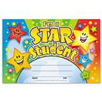 TREND ENTERPRISES, INC. Recognition Awards, I'm a Star Student, 8 1/2w by 5 1/2h, 30/Pack