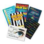 "TREND ENTERPRISES, INC. ""Building Character"" ARGUS Poster Combo Pack, 13 3/8 x 9, 6/Pack"