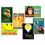 "TREND ENTERPRISES, INC. ""Attitude & Smiles"" ARGUS Poster Combo Pack, 6 Posters/Pack"